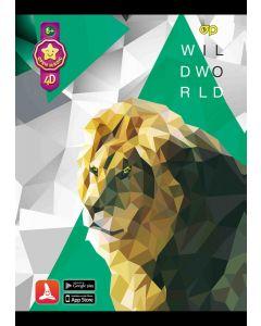 Puzzle 4D Lion
