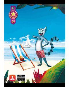 Puzzle 4D Lemur