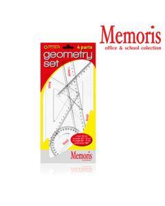 Geometrijski set 1/4 Memoris