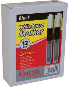 Marker za belu tablu crni 1/12 Memoris