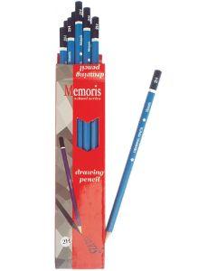 Olovka grafitna 2H Memoris