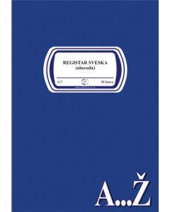 Registar sveska ABECEDA A5/90l