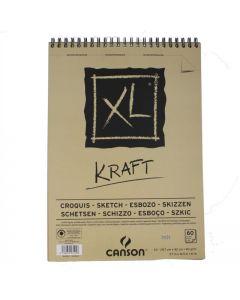 Canson blok XL Kraft A3