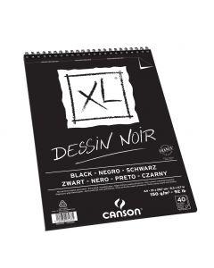 Canson blok XL Dessin Noir A4