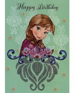 Čestitka za rođendan Frozen 1/12