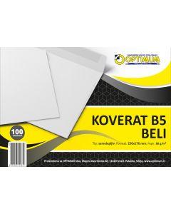 Koverat B5 - beli 1/100