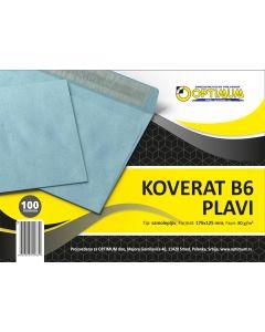 Koverat B6 - plavi 1/100