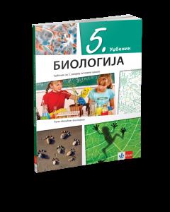 Udžbenik Biologija 5. razred KLETT