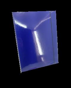 Fascikla sa gumom 4D plava