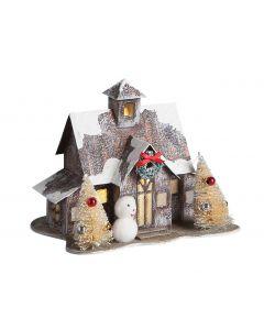 Novogodišnja figura Kućica 658721