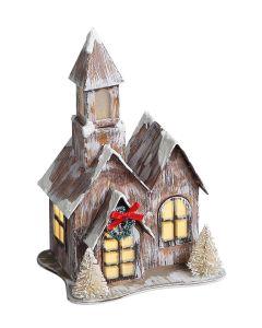 Novogodišnja figura Kućica 658734