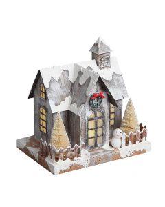Novogodišnja figura Kućica 658735
