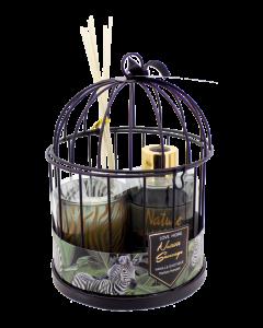 Sveća ukrasna Set kavez OP982