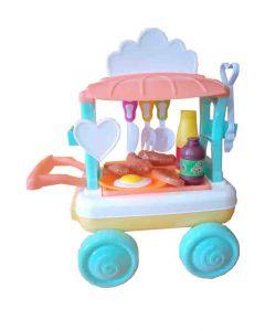 "Igračka ""Barbecue car-roštilj"" set kolica OP851"