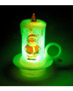 Novogodišnji ukras led svećica Šolja OP771