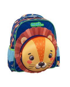 Ranac predškolski 3D Must Lion 584056