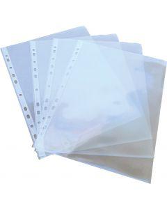 Fascikla PVC UR 80 mikrona kristal