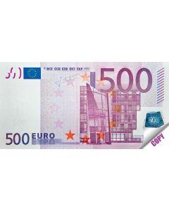 """Notes """"500 euro"""""""