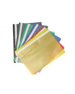 Fascikla PVC sa mehanizmom žuta 1/50