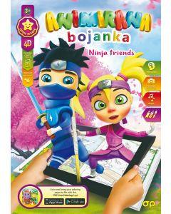 Bojanka 4D Ninja friends