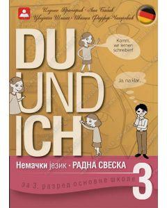 Udžbenik Zavod Nemački jezik Du und ich 3. razred radna sveska