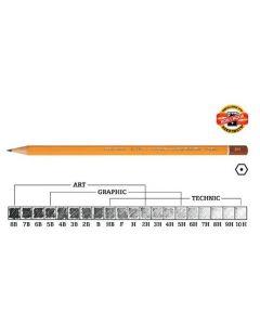 Olovka grafitna Koh-I-Noor 3B